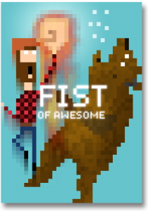 Fist of Awesome Poster