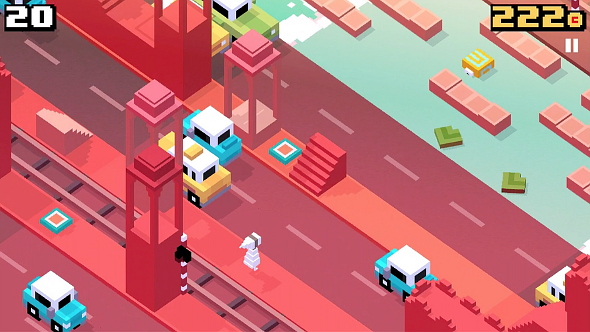 'Crossy Road' Crosses Over with 'Monument Valley' in Latest Update (via @iFanzine)