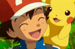 Ash's_Laughing_with_Pikachu