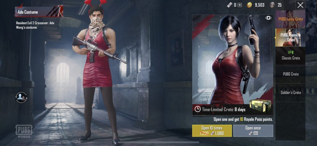 PUBG Mobile Resident Evil 2 Event: How to Get the Ada and Leon