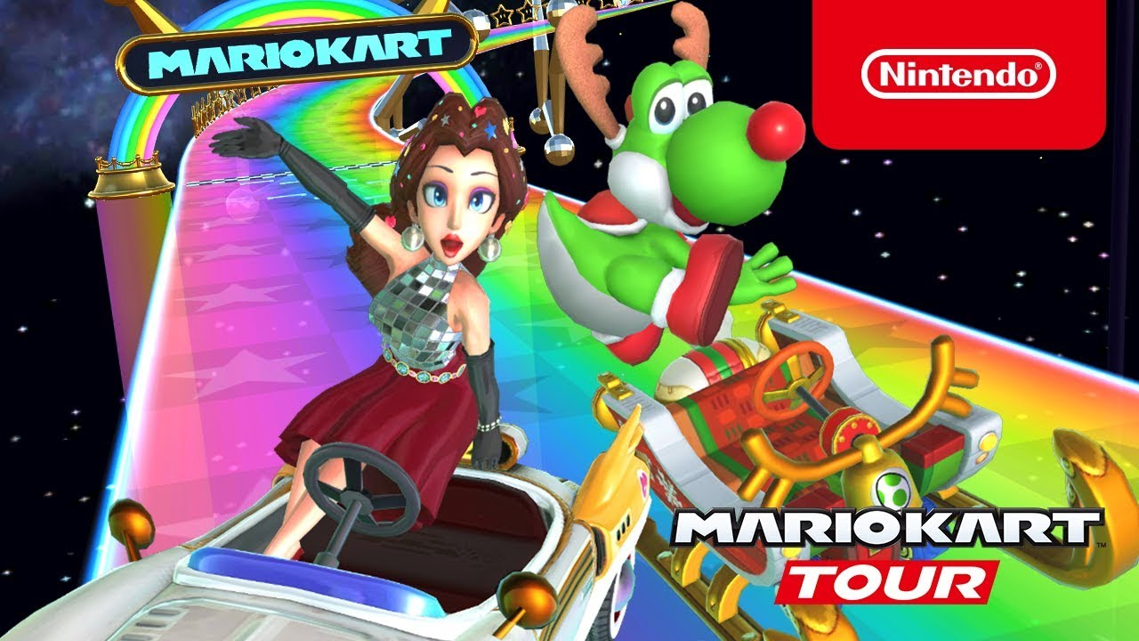 Mario Kart Tour S Holiday Tour Rounds Out The Year On Ios